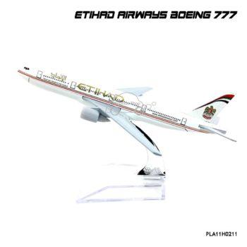 โมเดลเครื่องบิน ETIHAD AIRWAYS Boeing 777 (16 cm)