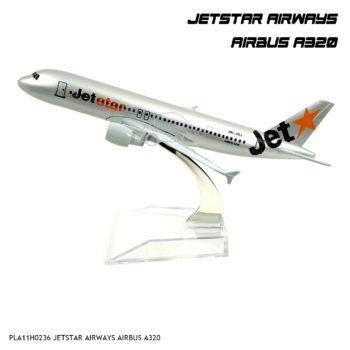 โมเดลเครื่องบิน JETSTAR AIRWAYS AIRBUS A320