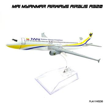 โมเดลเครื่องบิน MAI MYANMAR AIRWAYS AIRBUS A320 ราคาพิเศษ
