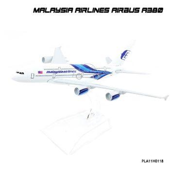 โมเดลเครื่องบิน MALAYSIA AIRLINES AIRBUS A380 จำลองเหมือนจริง