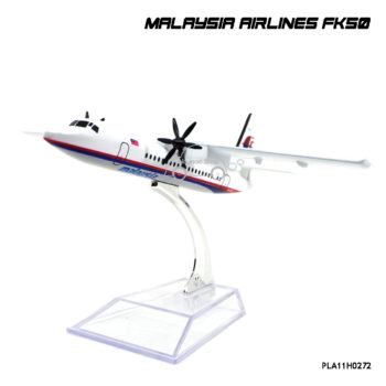 โมเดลเครื่องบิน Malaysia Airlines FK50 สวยๆ