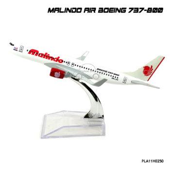 โมเดลเครื่องบิน MALINDO AIR Boeing 737-800