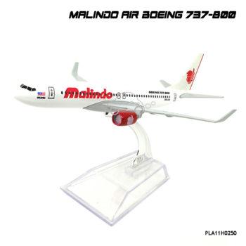 โมเดลเครื่องบิน MALINDO AIR Boeing 737-800 สวยๆ