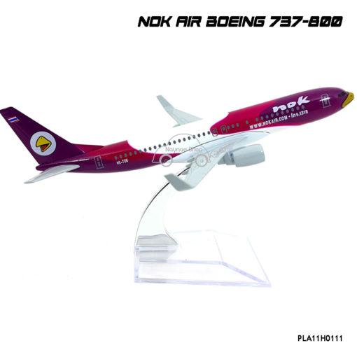 โมเดลเครื่องบิน นกแอร์ สีม่วง รุ่นขายดี
