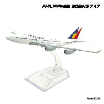 โมเดลเครื่องบิน PHILIPPINES Boeing 747 ลายสวย