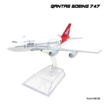โมเดลเครื่องบิน QANTAS Boeing 747 พร้อมฐาน