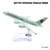 โมเดลเครื่องบิน QATAR AIRWAYS AIRBUS A380 โมเดลเหล็ก