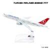 โมเดลเครื่องบิน TURKISH AIRLINES Boeing 777