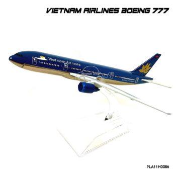 โมเดลเครื่องบิน VIETNAM AIRLINES Boeing 777 (16 cm)