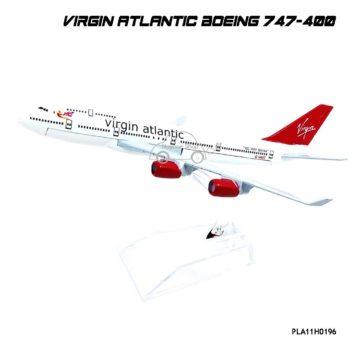 โมเดลเครื่องบิน Virgin Atlantic Boeing 747-400 ลายสวยงาม