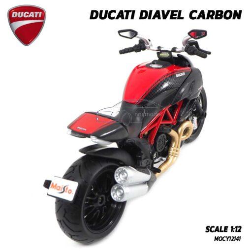 โมเดล Ducati Diavel Carbon (Scale 1:12) โมเดลดูคาติ ของแท้ Maisto