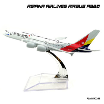 Model AirPlane ASIANA AIRLINES AIRBUS A380