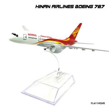 โมเดลเครื่องบิน HINAN AIRLINES Boeing 787 Dreamliner