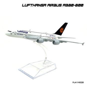 model planes LUFTHANSA AIRBUS A380-800 สวยงาม