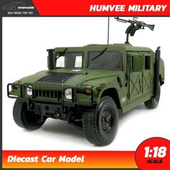 โมเดลรถทหาร HUMVEE MILITARY (Scale 1:18)