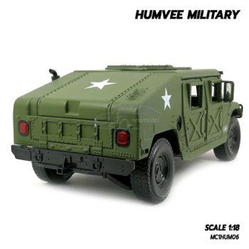 โมเดลรถทหาร HUMVEE MILITARY (Scale 1:18) ผลิตจากโลหะผสม Diecast Model
