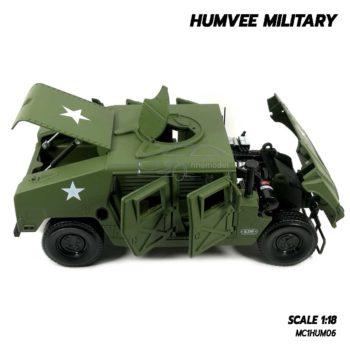 โมเดลรถทหาร HUMVEE MILITARY (Scale 1:18) รถเหล็กจำลองเหมือนจริง