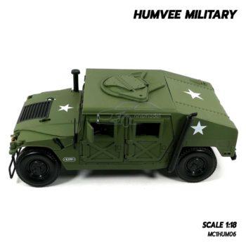 โมเดลรถทหาร HUMVEE MILITARY (Scale 1:18) รถเหล็กจำลองเหมือนจริง ประกอบสำเร็จ