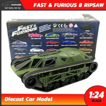 โมเดลรถฟาส Fast 8 RIPSAW FF8