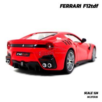 โมเดลรถ เฟอร์รารี่ FERRARI F12tdf (Scale 1:24) รถเหล็กโมเดล สวยๆ น่าสะสม