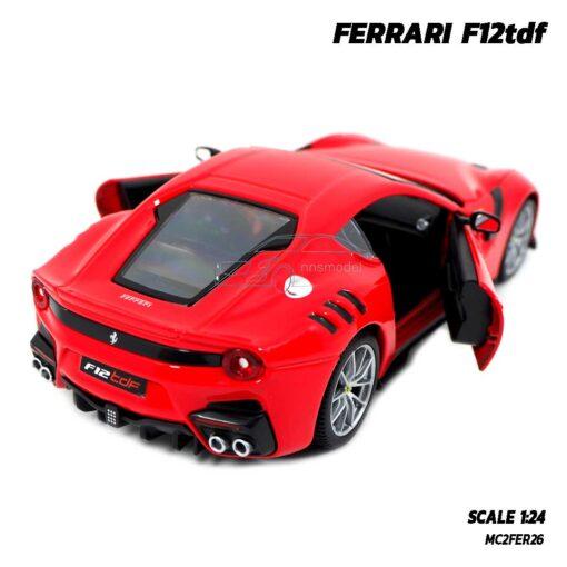 โมเดลรถ เฟอร์รารี่ FERRARI F12tdf (Scale 1:24) รถโมเดลเฟอร์รารี่แท้ ผลิตโดย Bburago