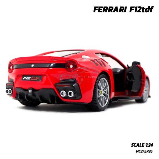 โมเดลรถ เฟอร์รารี่ FERRARI F12tdf (Scale 1:24) รถโมเดลเฟอร์รารี่แท้ ผลิตโดย Bburago พร้อมตั้งโชว์