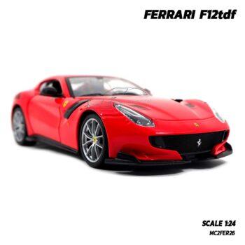 โมเดลรถ เฟอร์รารี่ FERRARI F12tdf (Scale 1:24) รถโมเดลเฟอร์รารี่แท้ Bburago