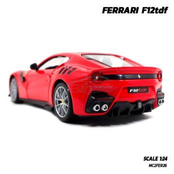 โมเดลรถ เฟอร์รารี่ FERRARI F12tdf (Scale 1:24) รถโมเดลเฟอร์รารี่แท้ ไฟท้ายสวยเหมือนจริง
