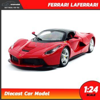โมเดลรถ เฟอร์รารี่ LAFERRARI สีแดง (Scale 1:24)