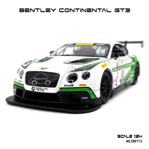 โมเดลรถ BENTLEY CONTINENTAL GT3