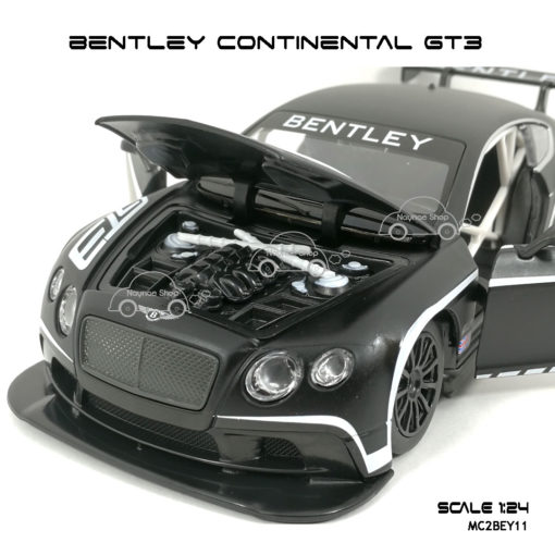 โมเดลรถ BENTLEY CONTINENTAL GT3 ห้องเครื่อง