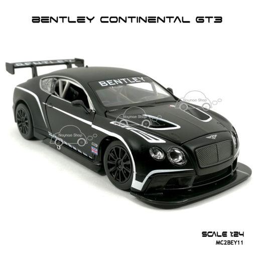 โมเดลรถ BENTLEY CONTINENTAL GT3 โมเดลประกอบสำเร็จ