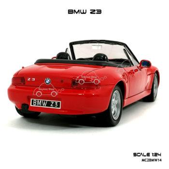 โมเดลรถ BMW Z3 สีแดง