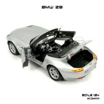 โมเดลรถ BMW Z8 ภายในรถสวยงาม