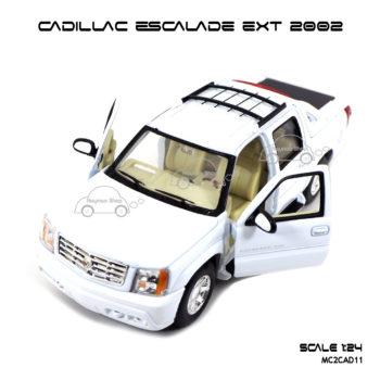 โมเดลรถ CADILLAC ESCALADE EXT 2002 เปิดประตูซ้ายขวาได้