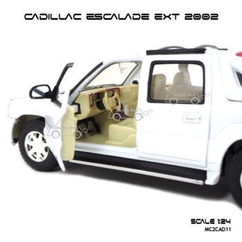 โมเดลรถ CADILLAC ESCALADE EXT 2002 ภายใน