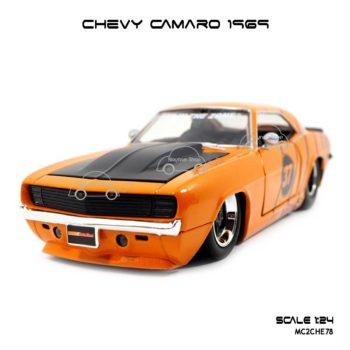 โมเดลรถ CHEVY CAMARO 1969