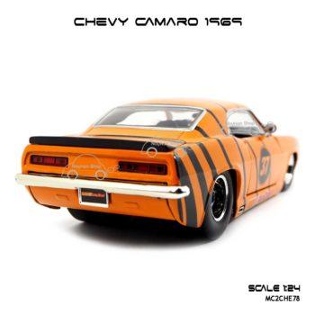 โมเดลรถ CHEVY CAMARO 1969 (1:24)