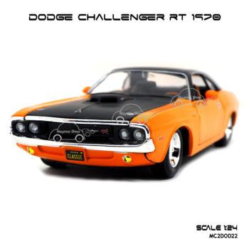 โมเดลรถ DODGE CHALLENGER RT 1970