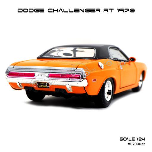 โมเดลรถ DODGE CHALLENGER RT 1970 (1:24)