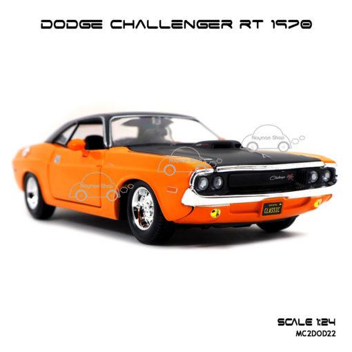 โมเดลรถ DODGE CHALLENGER RT 1970 (1:24) โมเดลสำเร็จ