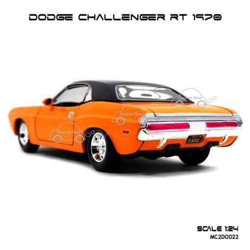 โมเดลรถ DODGE CHALLENGER RT 1970 (1:24) พร้อมตั้งโชว์
