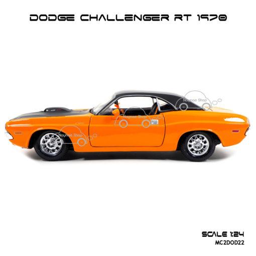 โมเดลรถ DODGE CHALLENGER RT 1970 (1:24) โมเดลของแท้