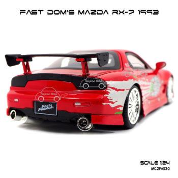 โมเดลรถ FAST DOM MAZDA RX 7 1993 (Scale 1:24)