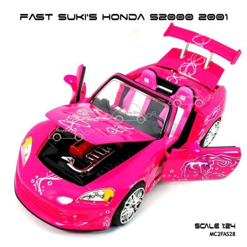 โมเดลรถ FAST SUKI HONDA S2000 (Scale 1:24) เปิดได้ครบ