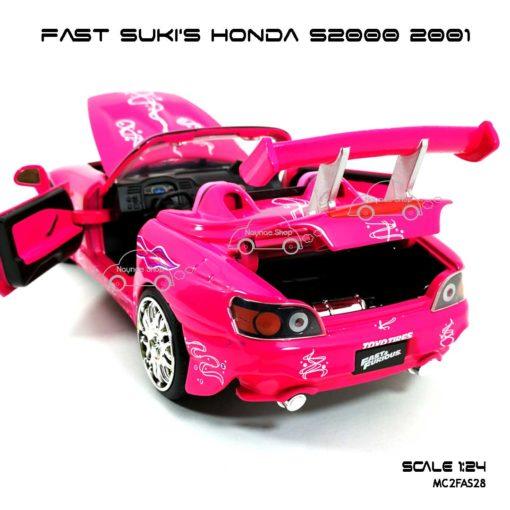 โมเดลรถ FAST SUKI HONDA S2000 (Scale 1:24) เปิดฝากระโปรงท้ายได้