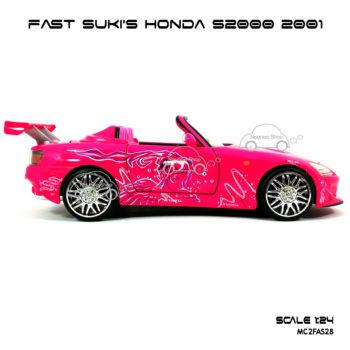 โมเดลรถ FAST SUKI HONDA S2000 (Scale 1:24) รถแข่ง