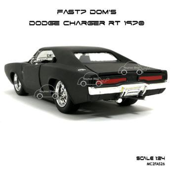 โมเดลรถ FAST7 DOM DODGE CHARGER RT 1970 (Scale 1:24) โมเดลประกอบสำเร็จ