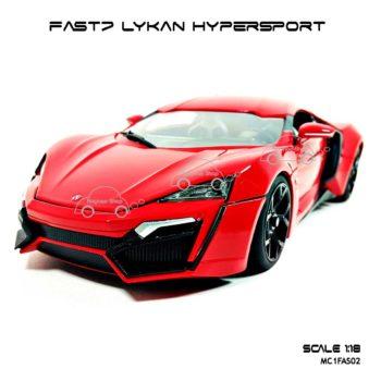 โมเดลรถ FAST7 LYKAN HYPERSPORT (1:18)