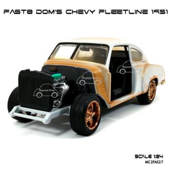 โมเดลรถ FAST8 DOM CHEVY FLEETLINE 1951